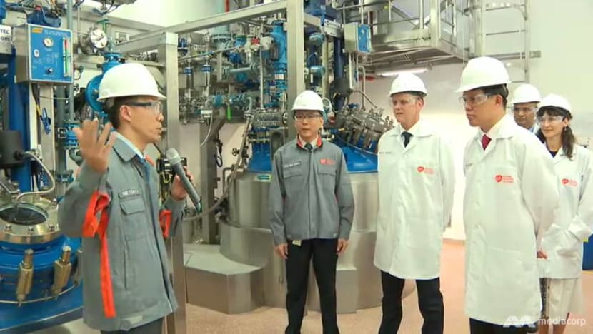 Pharmaceutical firm GSK launches new facilities to speed up medicine production