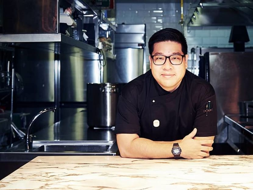 Fighting youthful insecurity and emotions to prove himself to older chefs