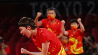 3比0横扫日本 中国乒乓女团卫冕成功