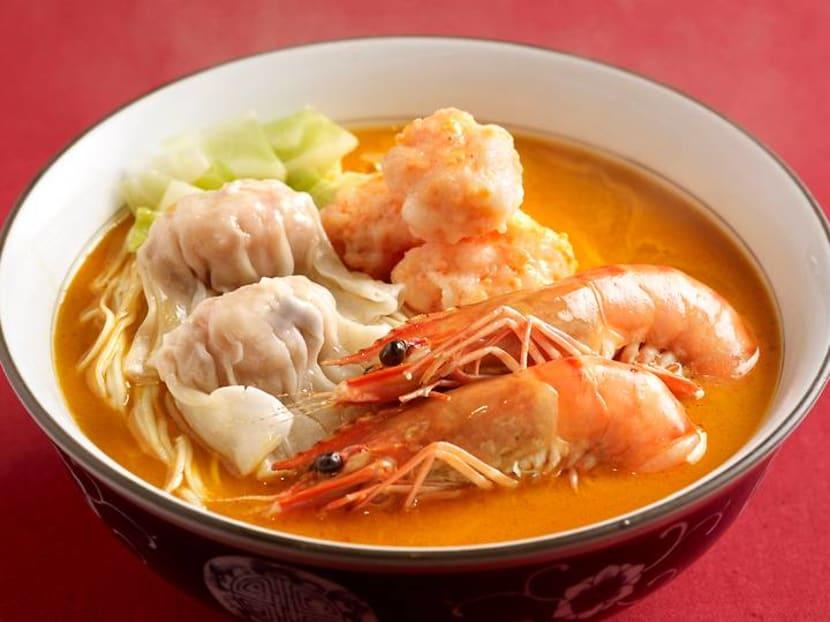 Prawn stock, dumpling and balls – shrimp 'ramen' la mian launches with 1-for-1 deal