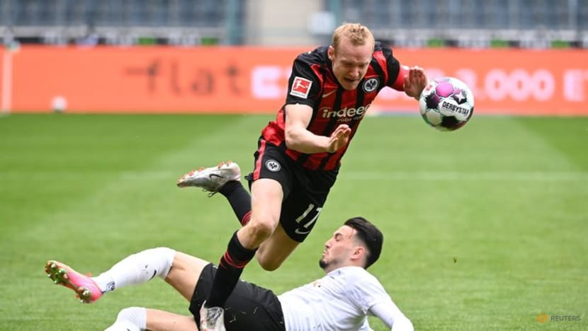 Eintracht's Rode ruled out of Bundesliga opener at Dortmund