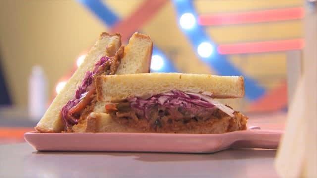 《科学食验事》食谱:手撕猪肉三明治