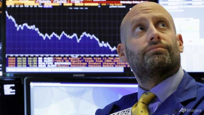 Dow ends brutal session with 3.2% loss, Nasdaq -4.1%