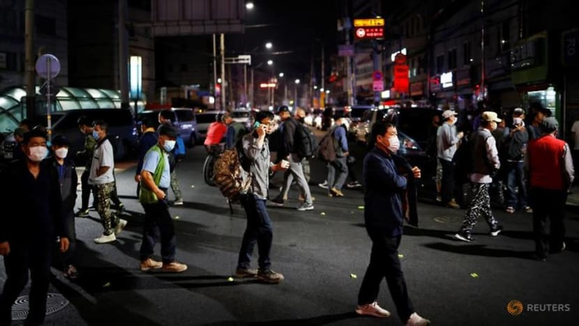 South Korean protests fan COVID-19 fears