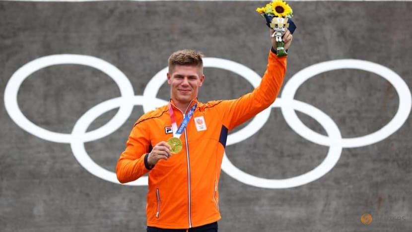 Olympics-Cycling-BMX winner Kimmann thought dream was over after colliding with official