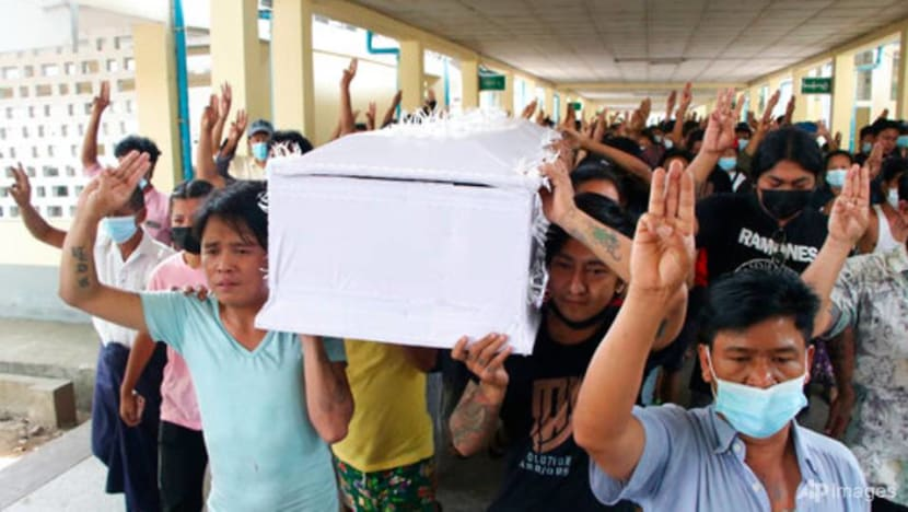 France denounces 'blind and deadly' violence in Myanmar
