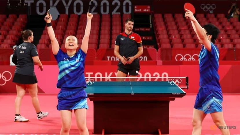 Table Tennis: Tears of joy for Japan duo, nap time for Chinese, after wins