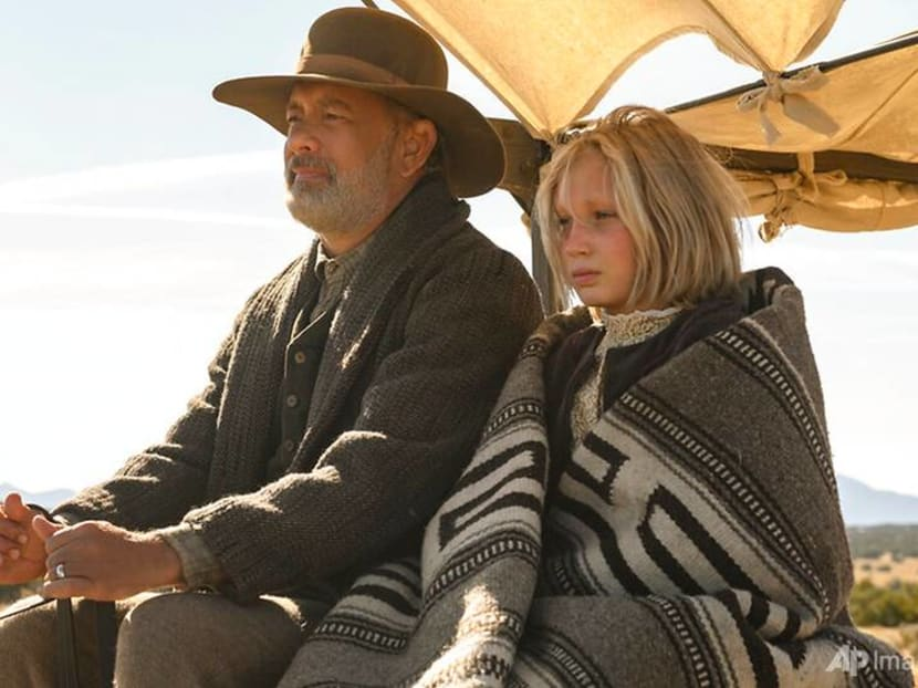 Tom Hanks saddles up for his first Western film in News Of The World