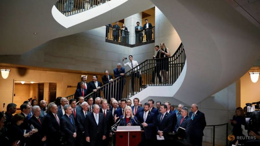 Republicans seek whistleblower's identity in US impeachment inquiry