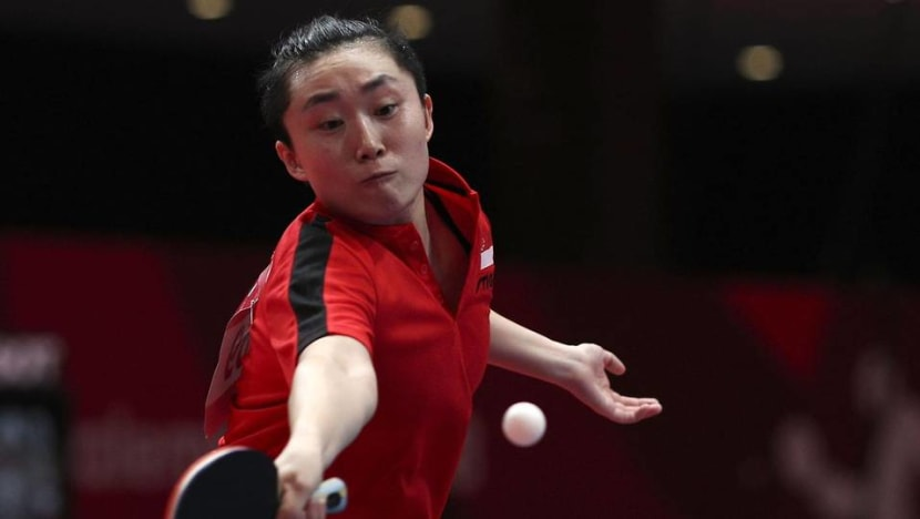 Feng Tianwei, Singapore's most decorated Olympian, gets ready for another battle