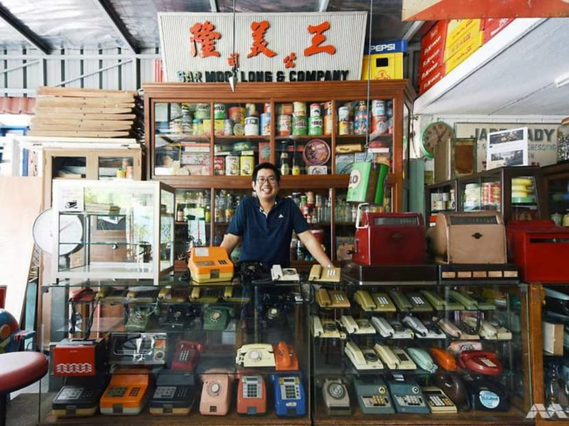 Missing a piece of old Singapore? This 'heritage keeper' has it in his home