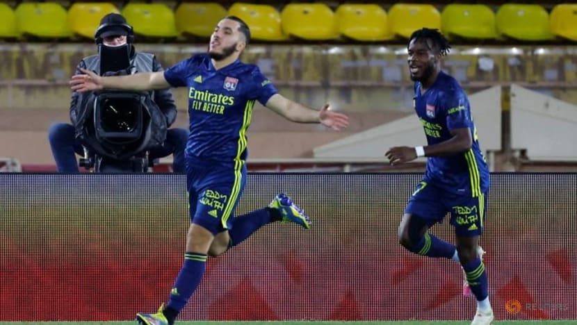 Football: Cherki late goal earns Lyon 3-2 win at Monaco