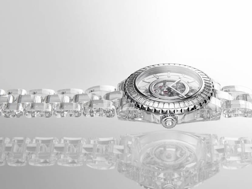 Chanel bares it all with new J12 model made almost entirely of clear sapphire