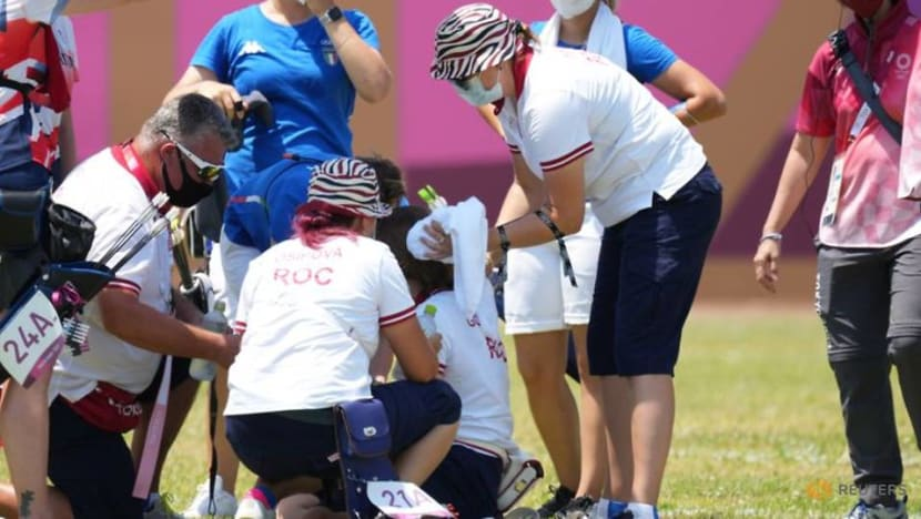 Archery: Russian Gomboeva returns after sunstroke to help team into quarters