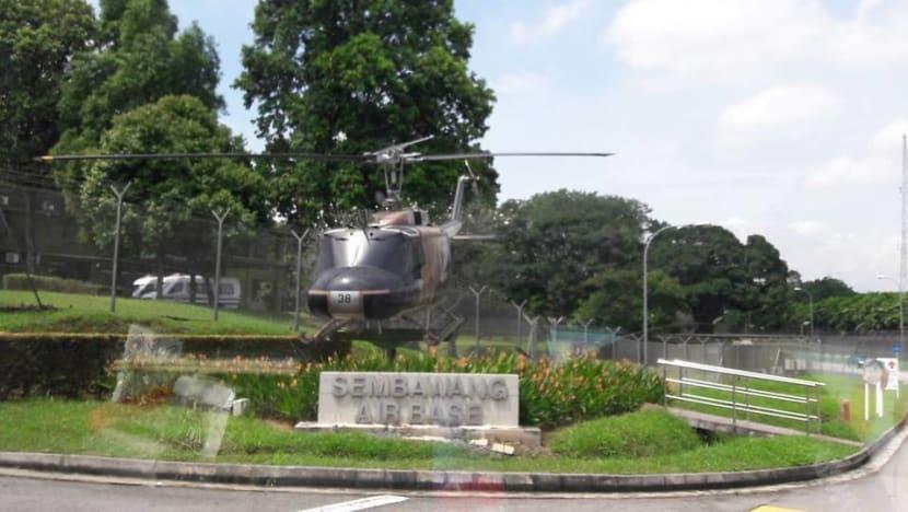 Full-time national serviceman found dead at Sembawang Air Base