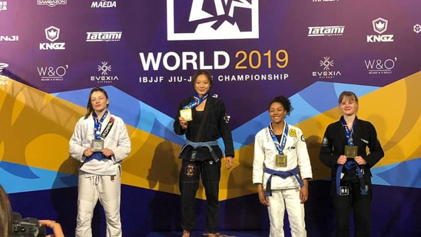 'This has been my dream since day one': Singapore's Constance Lien wins world title in jujitsu