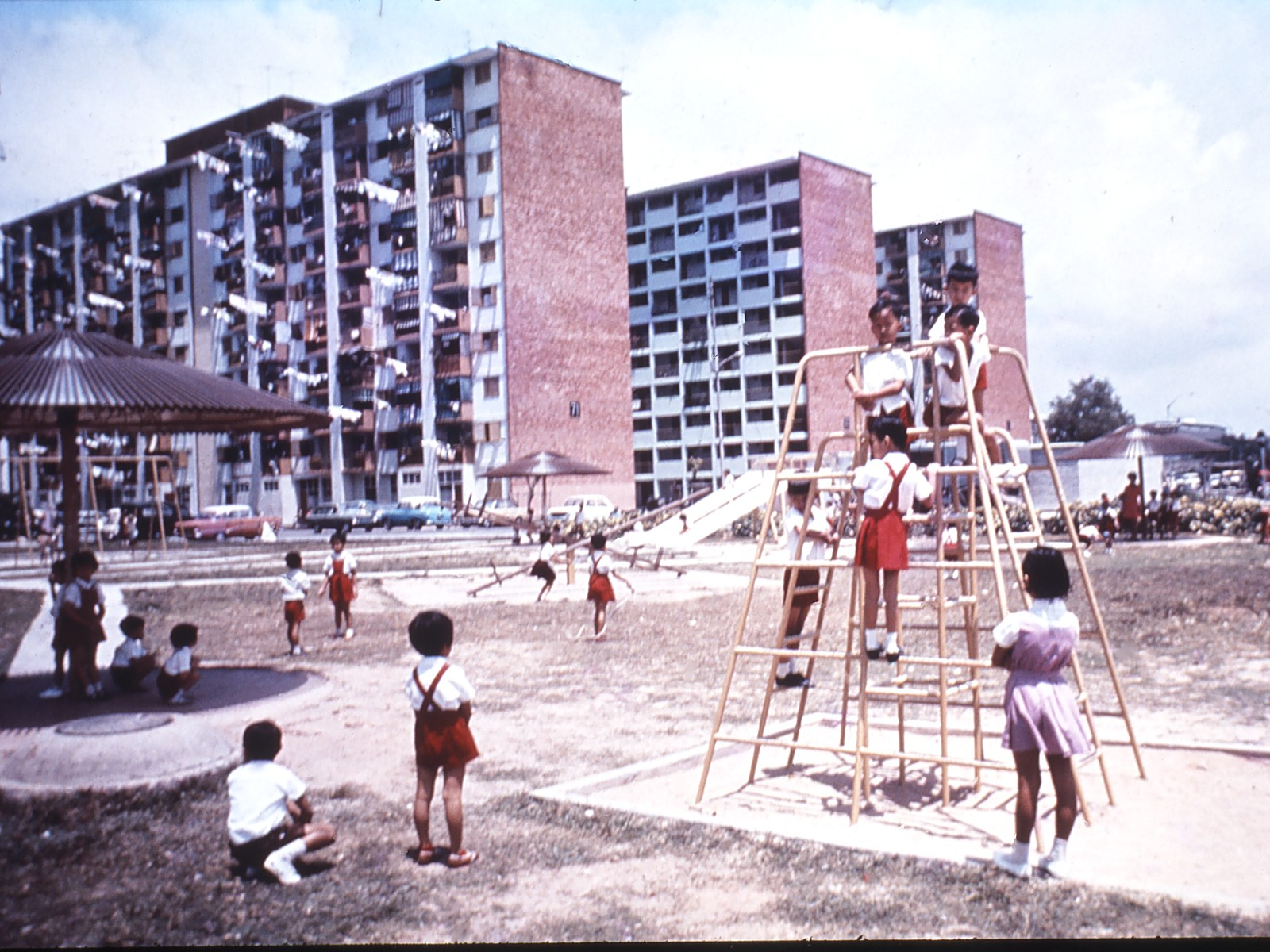 Tanglin Halt in the early 1970s. (Photo courtesy of My Community)